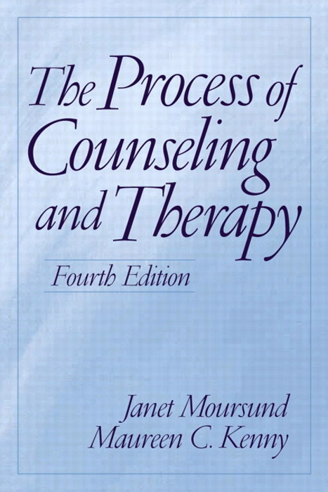 Process of Counseling and Therapy, The, 4th Edition