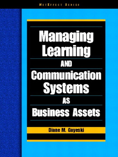 Managing Learning and Communication Systems as Business Assets