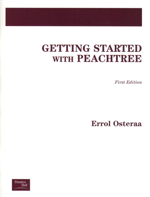 Cover image for Getting Started with Peachtree 8.0