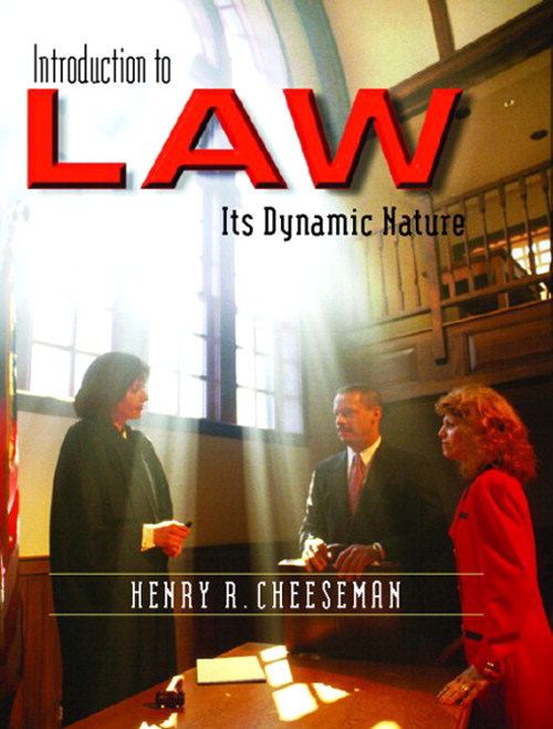Introduction to Law: Its Dynamic Nature, CourseSmart eTextbook