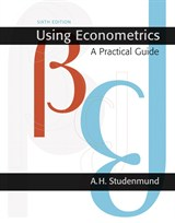 Using Econometrics: A Practical Guide, 6th Edition