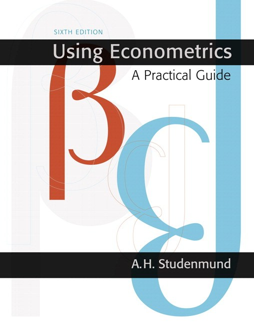 Using Econometrics: A Practical Guide, CourseSmart eTextbook, 6th Edition