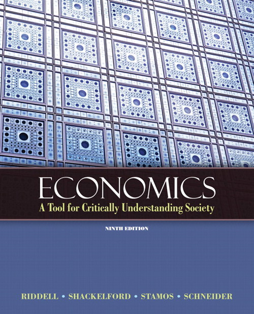 Economics: A Tool for Critically Understanding Society, CourseSmart eTextbook, 9th Edition