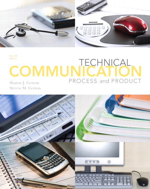 Technical Communication: Process and Product, CourseSmart eTextbook, 7th Edition