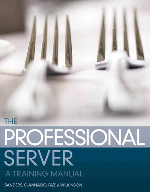 Professional Server, The: A Training Manual, CourseSmart eTextbook, 2nd Edition