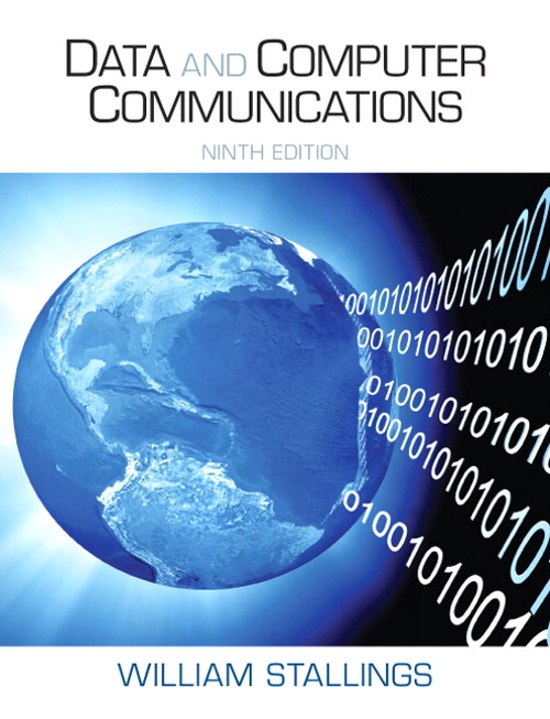 Data and Computer Communications, CourseSmart eTextbook, 9th Edition