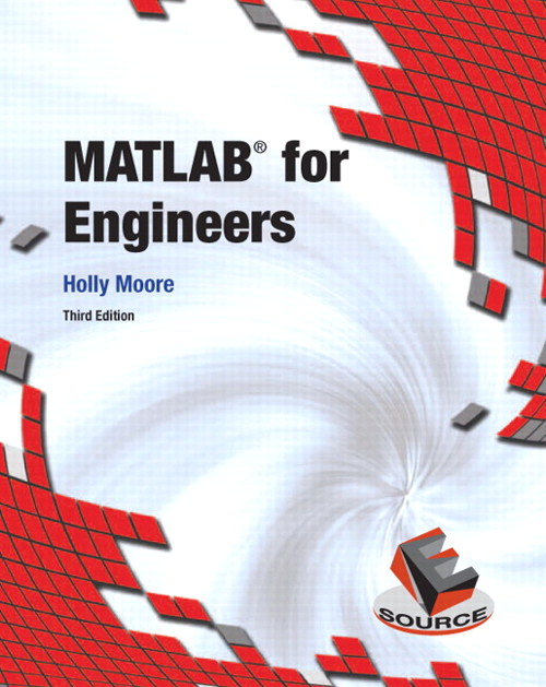 MATLAB for Engineers CourseSmart e text, 3rd Edition