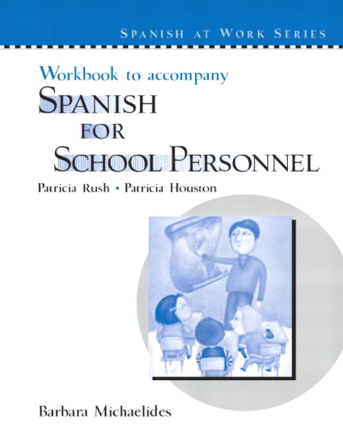 Cover image for Workbook to accompany Spanish for School Personnel