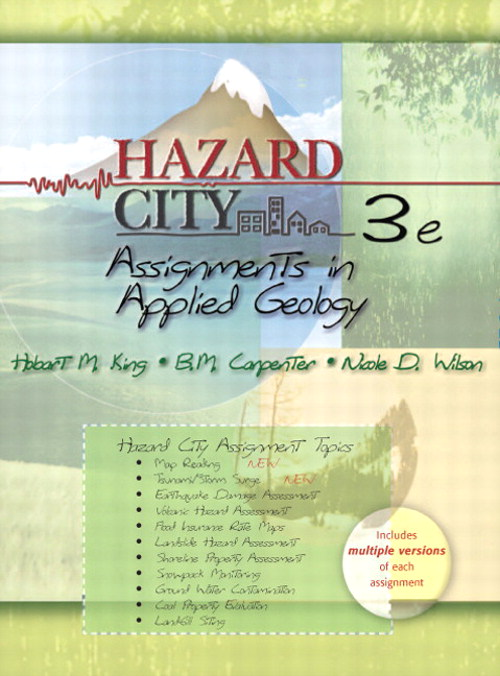 Hazard City: Assignments in Applied Geology, 3rd Edition
