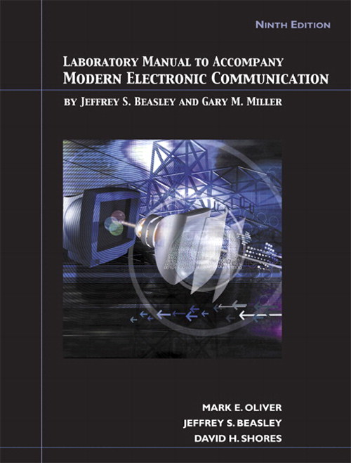 Cover image for Lab Manual for Modern Electronic Communication, 9th Edition