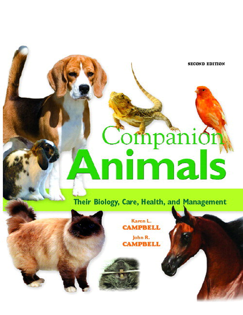 Companion Animals: Their Biology, Care, Health, and Management, CourseSmart eTextbook, 2nd Edition