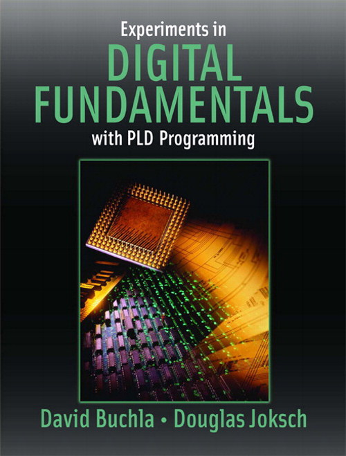 Cover image for Experiments in Digital Fundamentals with PLD Programming