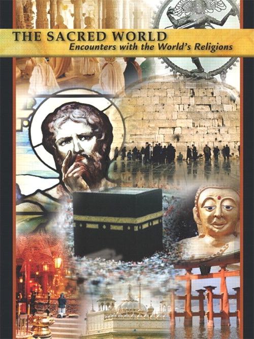 Cover image for Sacred World, Encounters with the World's Religions CD-ROM, The