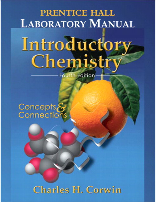 Prentice Hall Lab Manual Introductory Chemistry, 4th Edition