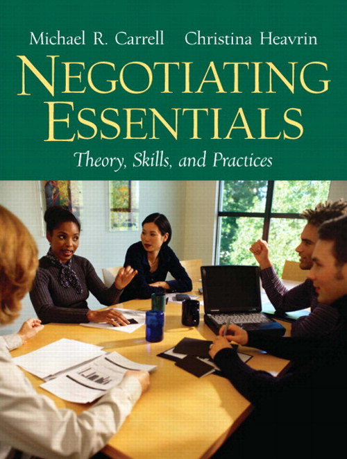 Negotiating Essentials: Theory, Skills, and Practices, CourseSmart eTextbook