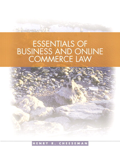 Essentials of Business Law, CourseSmart eTextbook