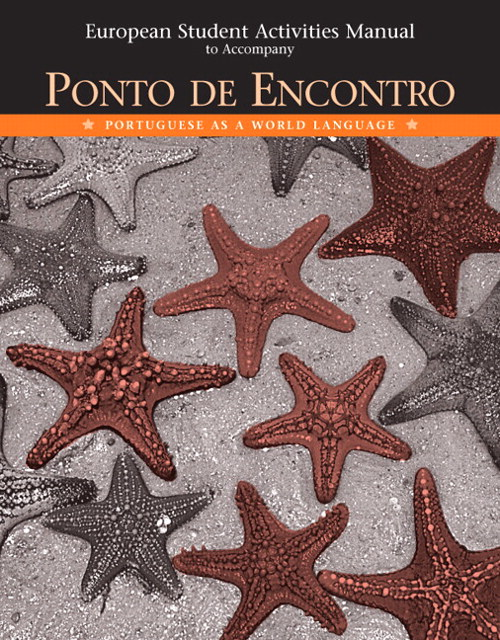 Cover image for European Student Activities Manual for Ponto de Encontro: Portuguese as a World Language