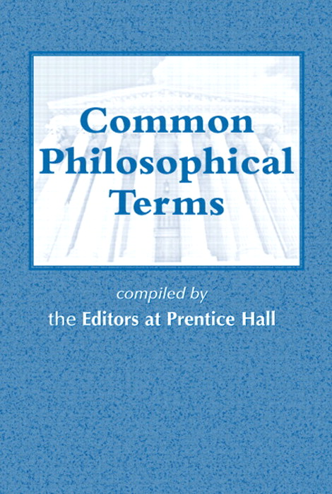 Cover image for Common Philosophical Terms
