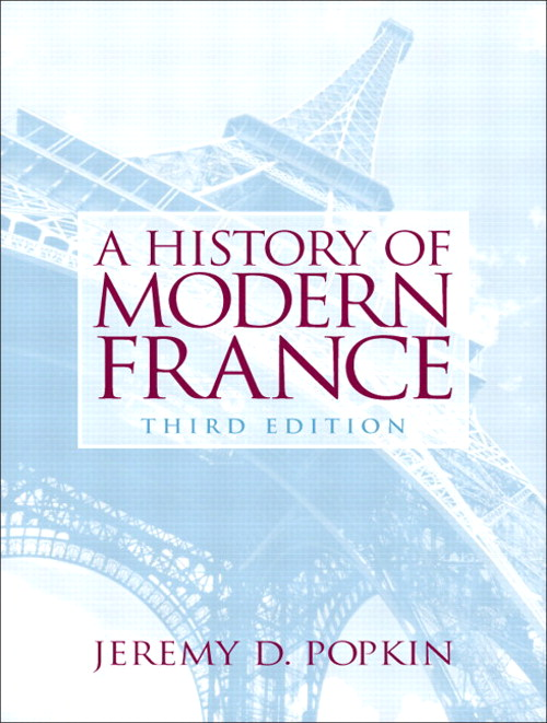 History of Modern France, A, CourseSmart eTextbook, 3rd Edition