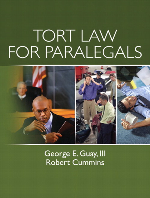 Tort Law for Paralegals, CourseSmart eTextbook