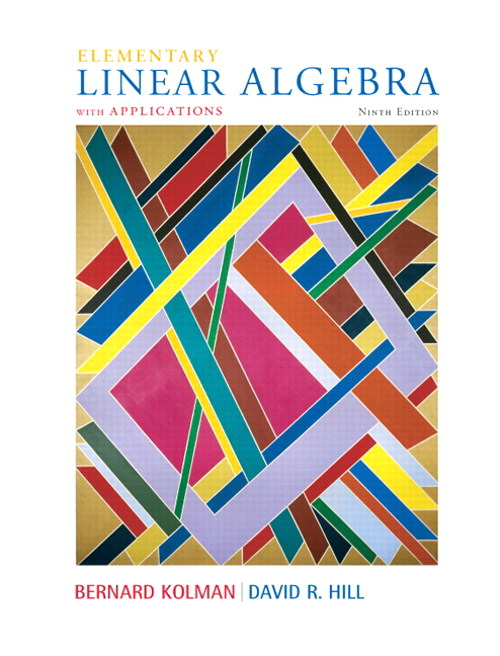 Elementary Linear Algebra with Applications, CourseSmart eTextbook, 9th Edition