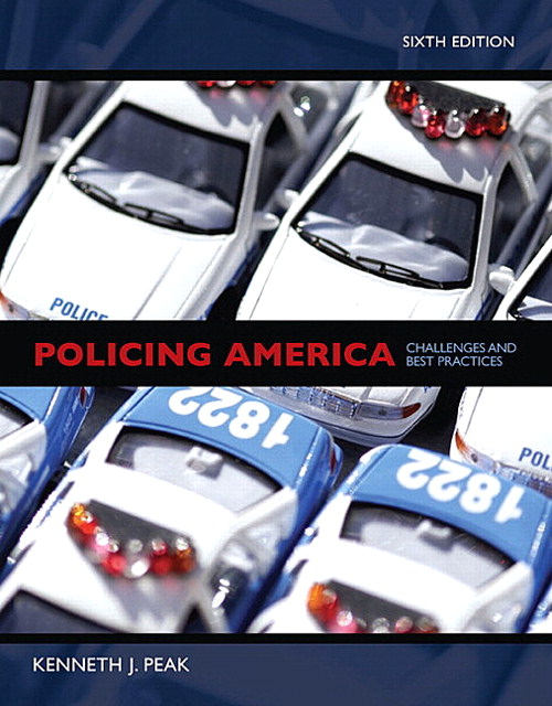 Policing America, CourseSmart eTextbook, 6th Edition