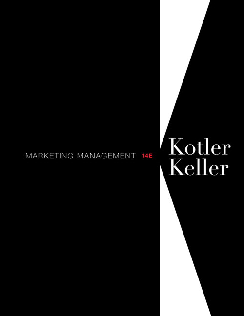 Marketing Management, CourseSmart eTextbook, 14th Edition