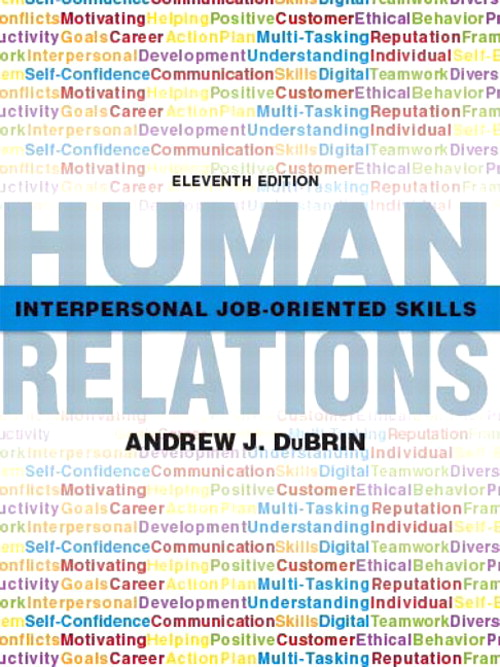 Human Relations: Interpersonal Job-Oriented Skills, CourseSmart eTextbook, 11th Edition