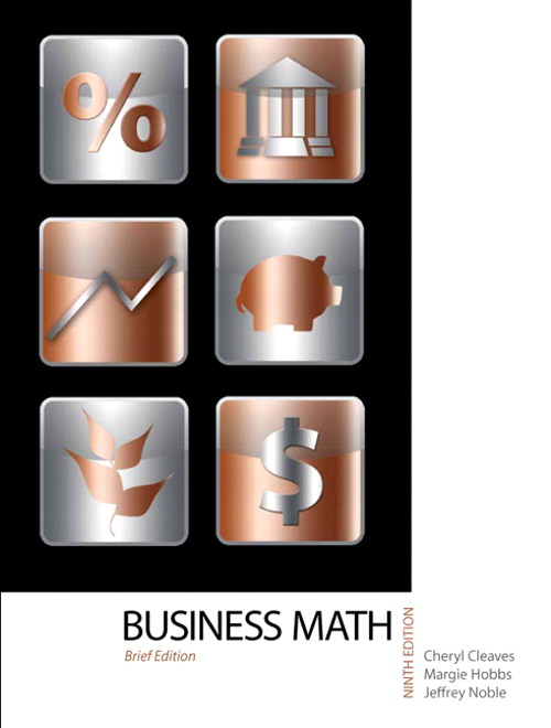 Business Mathematics, Brief Edition, 9th Edition