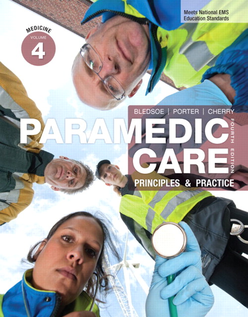 Paramedic Care: Principles & Practice, Volume 4, CourseSmart eTextbook, 4th Edition