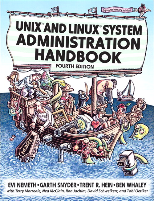 Unix and Linux System Administration Handbook, Safari, 4th Edition