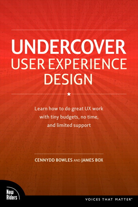 Undercover User Experience Design, Safari