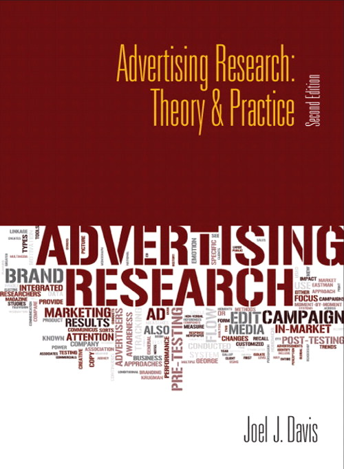 Advertising Research: Theory & Practice, CourseSmart eTextbook, 2nd Edition