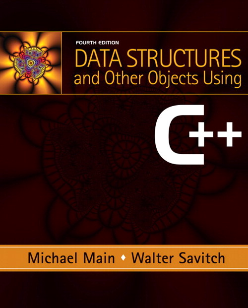 Data Structures and Other Objects Using C++, CourseSmart eTextbook, 4th Edition