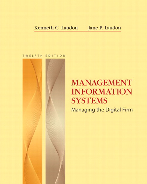 Management Information Systems, CourseSmart eTextbook, 12th Edition