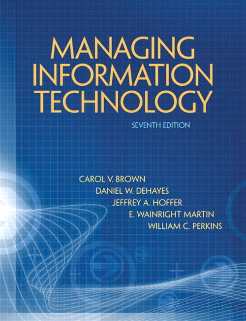 Managing Information Technology, CourseSmart eTextbook, 7th Edition