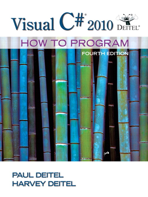 Visual C# 2010 How to Program, CourseSmart eTextbook, 4th Edition