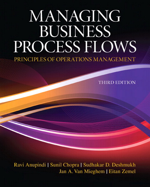 Managing Business Process Flows, CourseSmart eTextbook, 3rd Edition