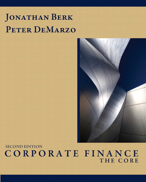 Corporate Finance: The Core, CourseSmart eTextbook, 2nd Edition