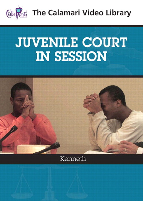 Juvenile Court in Session: Kenneth (2-DVD Set)