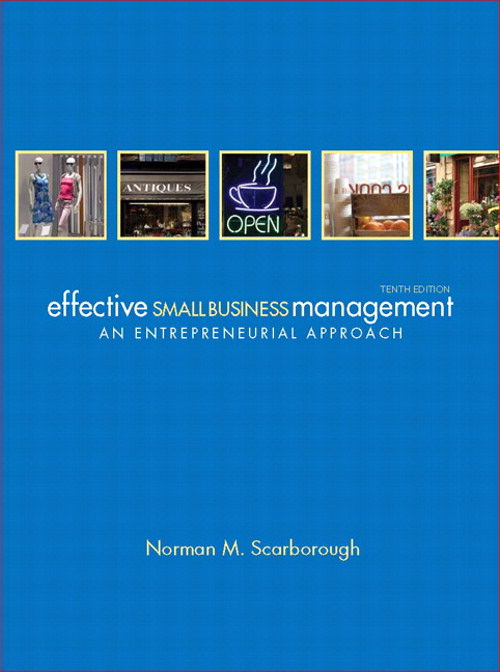 Effective Small Business Management, CourseSmart eTextbook, 10th Edition