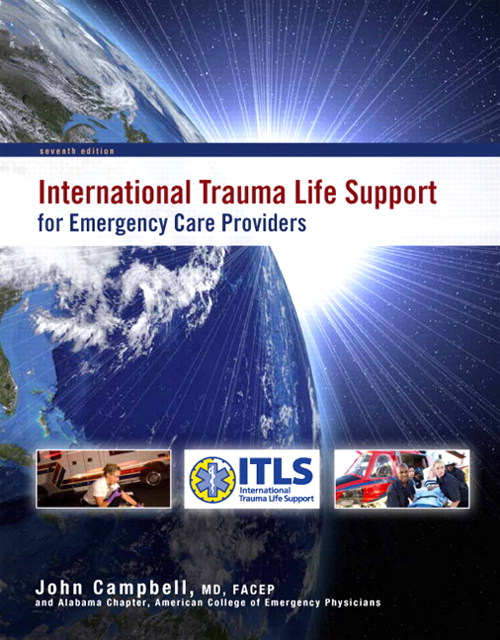 International Trauma Life Support for Emergency Care Providers, CourseSmart eTextbook, 7th Edition