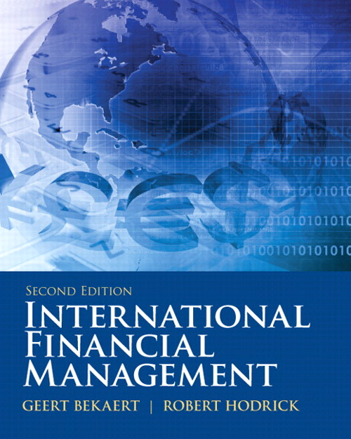 International Financial Management, CourseSmart eTextbook, 2nd Edition