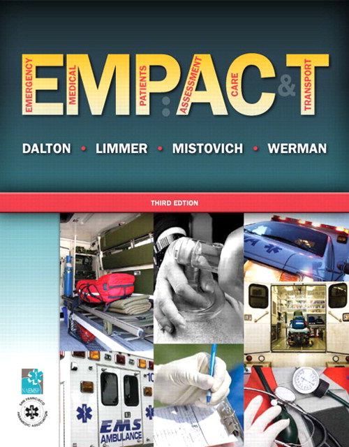 Emergency Medical Patients: Assessment, Care, and Transport, CourseSmart eTextbook