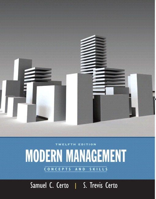 Modern Management: Concepts and Skills, CourseSmart eTextbook, 12th Edition