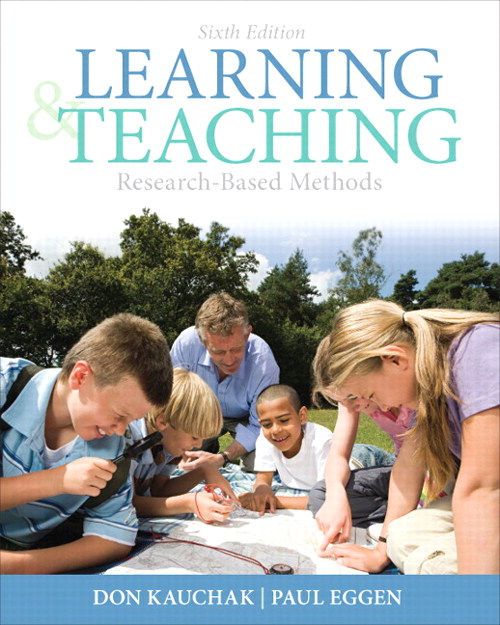 Learning and Teaching: Research-Based Methods, CourseSmart eTextbook, 6th Edition