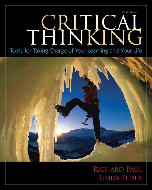 Critical Thinking: Tools for Taking Charge of Your Learning and Your Life, CourseSmart eTextbook, 3rd Edition