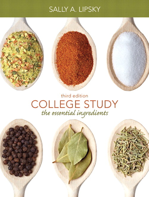 College Study: The Essential Ingredients, CourseSmart eTextbook, 3rd Edition