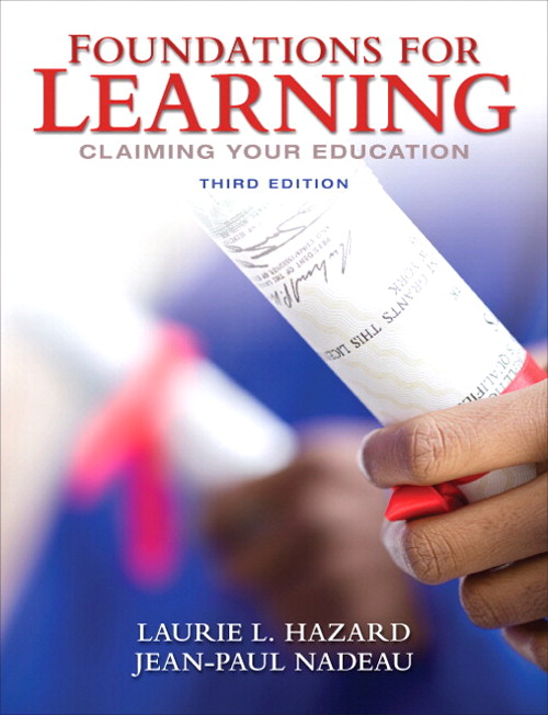 Foundations for Learning: Claiming Your Education, CourseSmart eTextbook, 3rd Edition