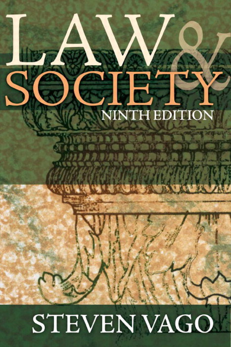 Law and Society, 9th Edition